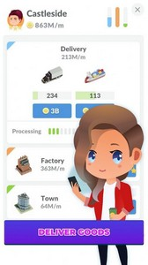 Idle delivery city tycoon游戏图1