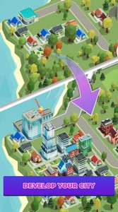 Idle delivery city tycoon游戏图2