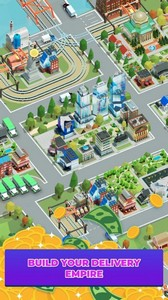 Idle delivery city tycoon游戏图3